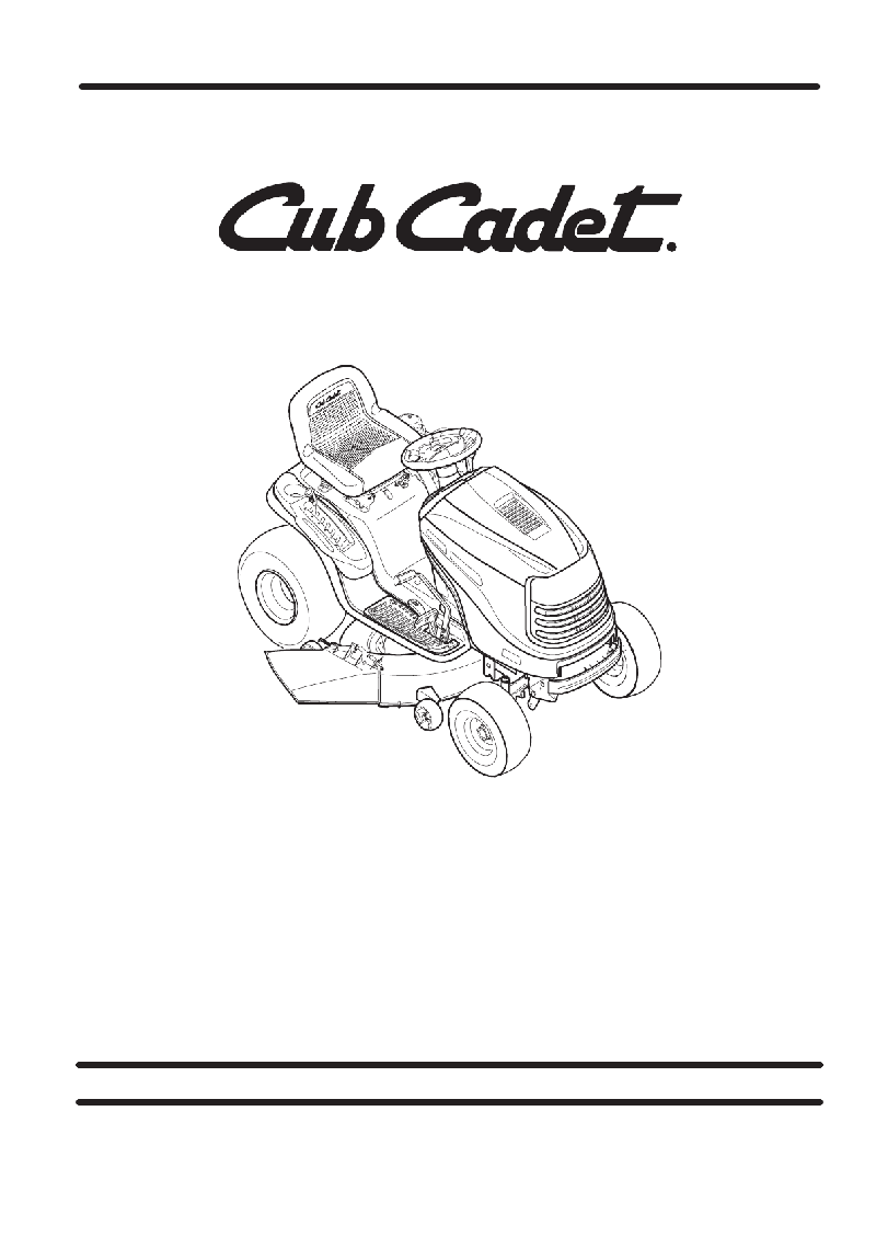 Cub Cadet LT1042 Lawn Mower Illustrated parts manual PDF