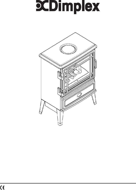 Dimplex AUBERRY AUB20 Stove Operation & user's manual PDF