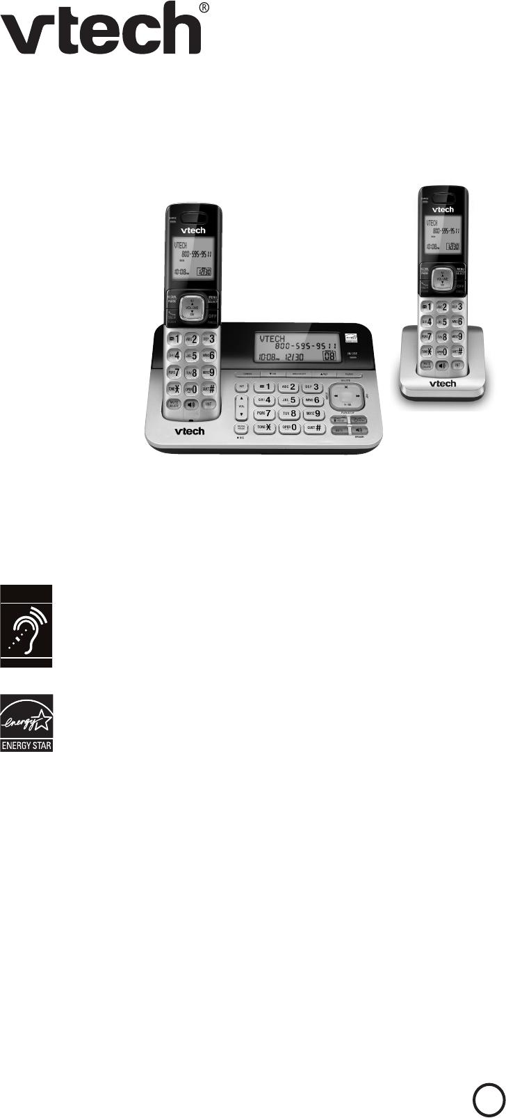 VTech CS6729 Telephone Accessories Operation & user's