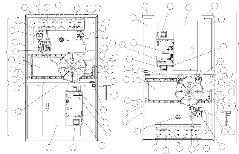 Amana ACV9 Furnace Installation instructions manual PDF
