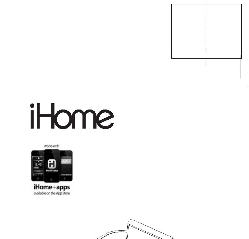 SDI Technologies iHome iP10 Alarm Clock Instruction manual