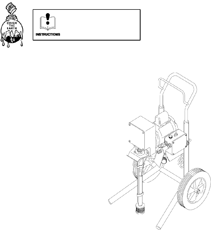 Sherwin-Williams 820–001 Paint Sprayer Owner's manual PDF