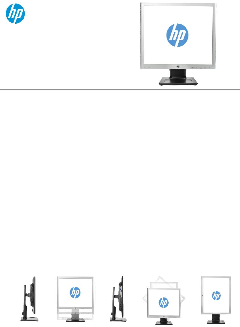 HP Compaq LA1956x Monitor Specifications PDF View/Download