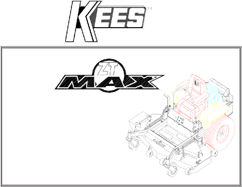 Kees ZKH52220 Lawn Mower Parts manual PDF View/Download