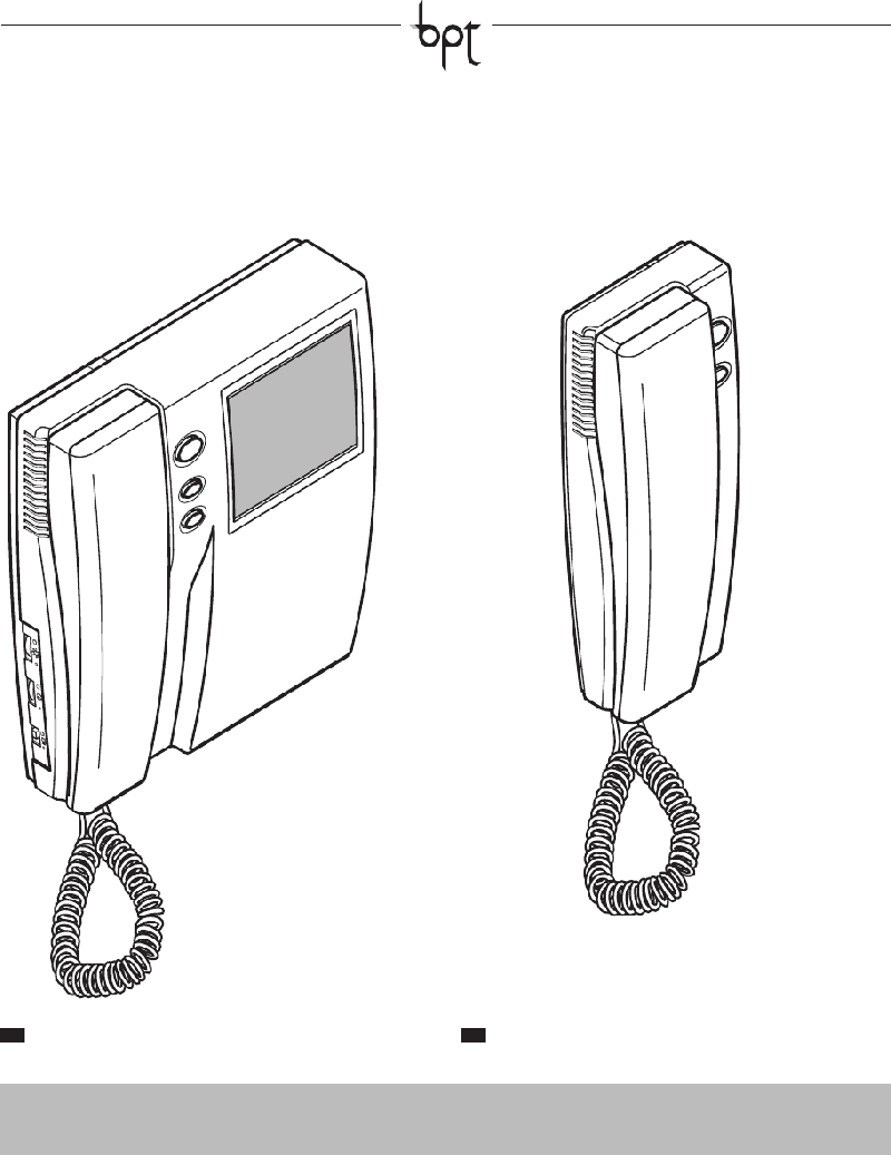 Bpt ARW2 US Intercom System Operation & user's manual PDF