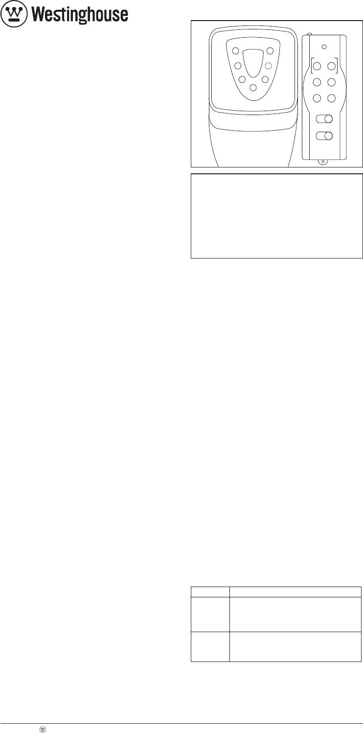 Westinghouse T26119 Timer Manual PDF View/Download