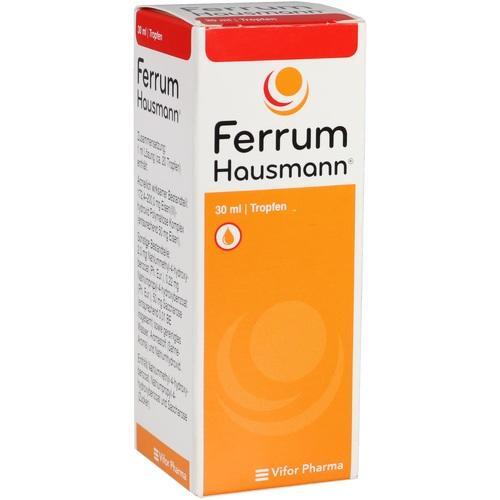 FERRUM HAUSMANN Tropfen zum Einnehmen | 02190861 | Apotheker.com