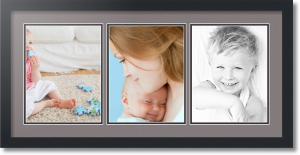 Arttoframes Collage Mat Frame 3 8.5x11