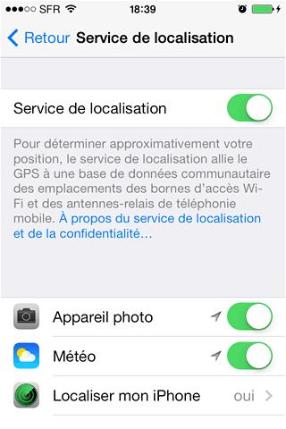 economiser la batterie de votre iphone 1