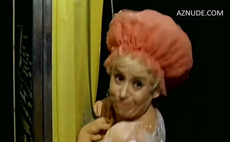 Barbara Windsor Breasts Butt Scene in Carry On Abroad  AZNude