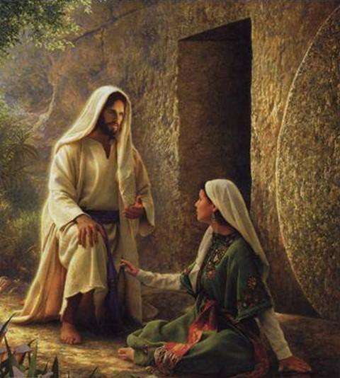 Αποτέλεσμα εικόνας για εμφανίστηκε πρώτα στη Μαρία τη Μαγδαληνή (