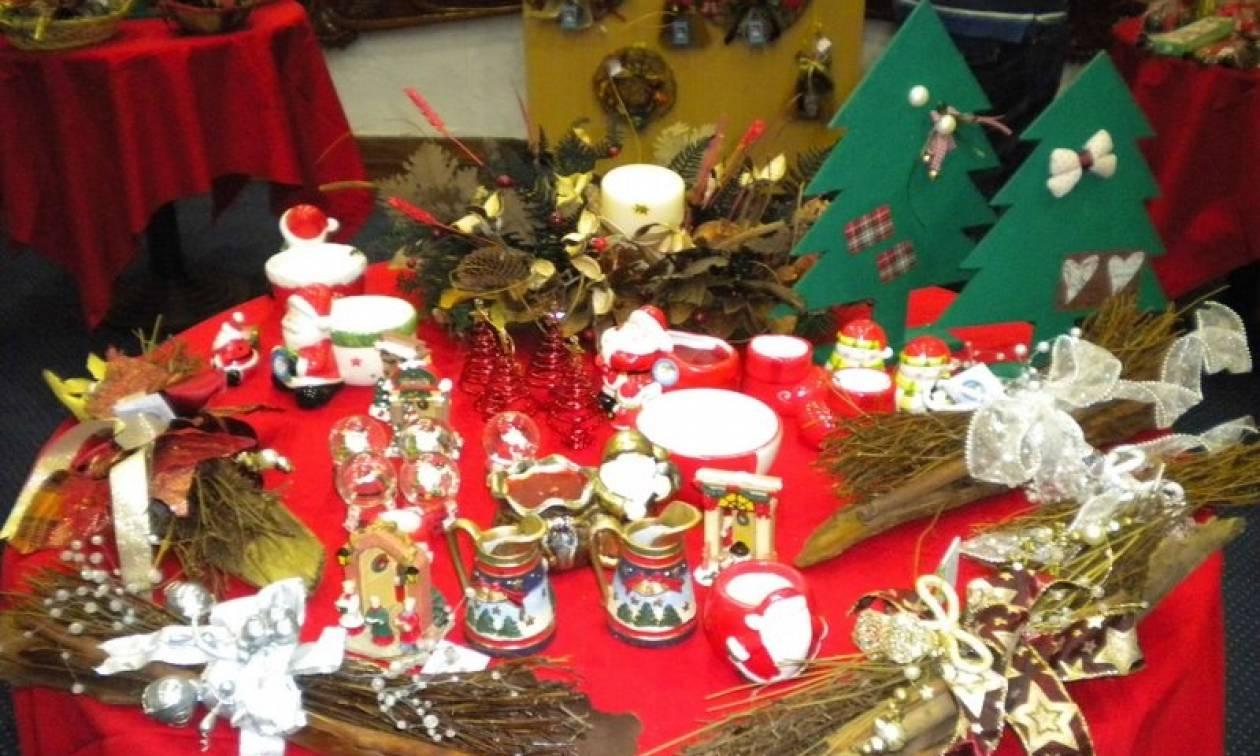 Χριστουγεννιάτικα μπαζάρ για καλό σκοπό το Σαββατοκύριακο (10-11/12)