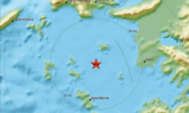 Νέος ισχυρός σεισμός 5,1 Ρίχτερ συγκλόνισε τα Δωδεκάνησα