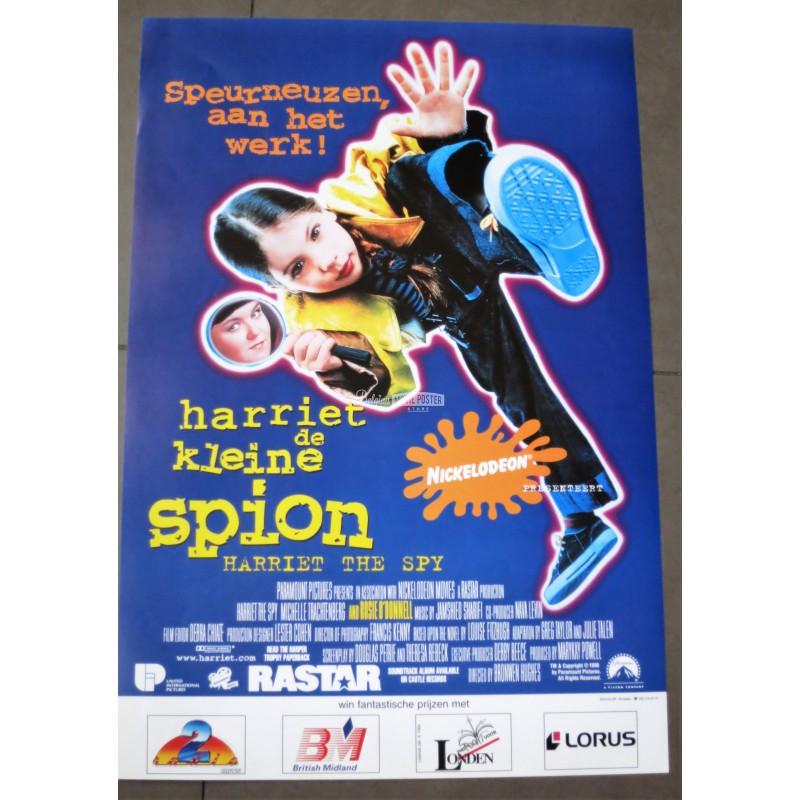 harriet the spy belgian movie poster store