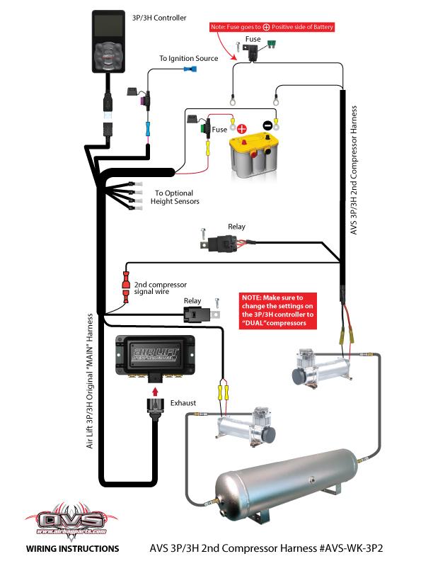 compressor wire diagram