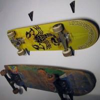 Skateboard Wall Rack | Skateboard Holder | Skateboard ...