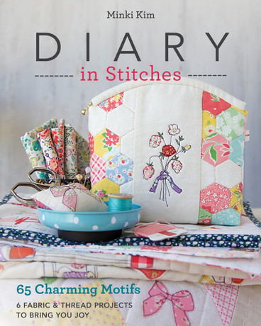 Artist Minki Kim turns her own daily sketchbook challenge into 65 stitchable drawings to mix and match. Embroider and appliqué the whimsical, easy-going way with 6 useful projects to make and share, like a patchwork pouch, a statement pillow, and a sweet wallhanging. Minki's uplifting designs, plus an extra gallery of small project ideas from coasters to wall art will appeal to anyone who wants to add personality to their home and personal accessories.