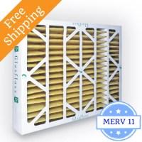 20x25x4 Air Filter MERV 11 Glasfloss Z-Line - Box of 6