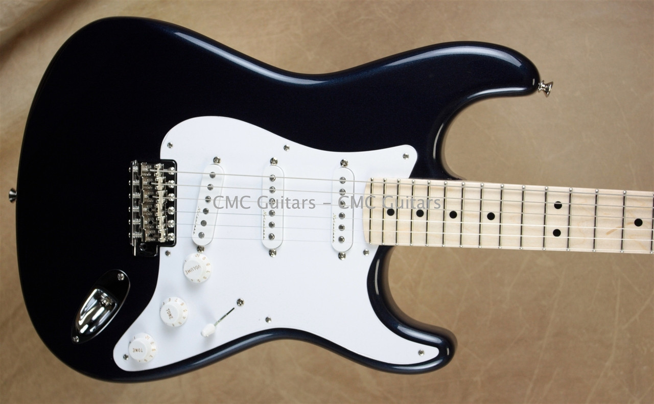 medium resolution of fender custom shop eric clapton strat signature stratocaster midnight blue guitar
