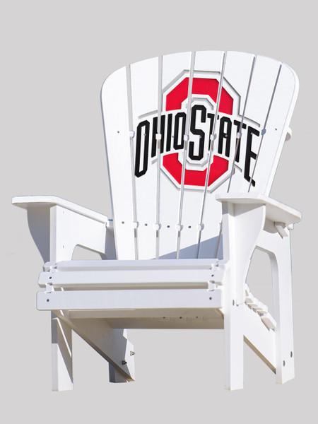 Ohio State University Adirondack Chair  Key Largo