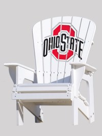 Ohio State University Adirondack Chair - Key Largo ...
