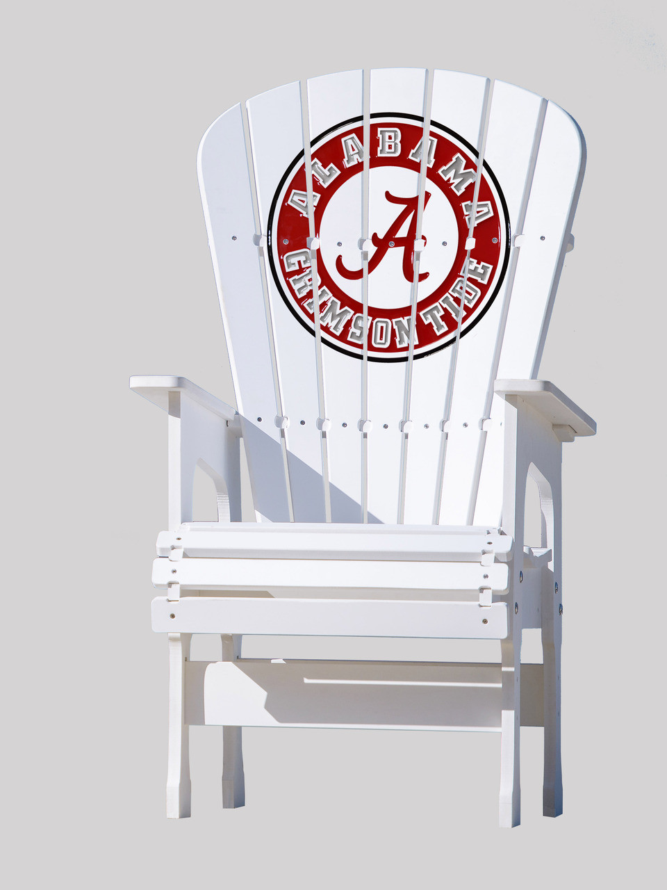 alabama rocking chair modern dinning chairs high top patio university of crimson tide key