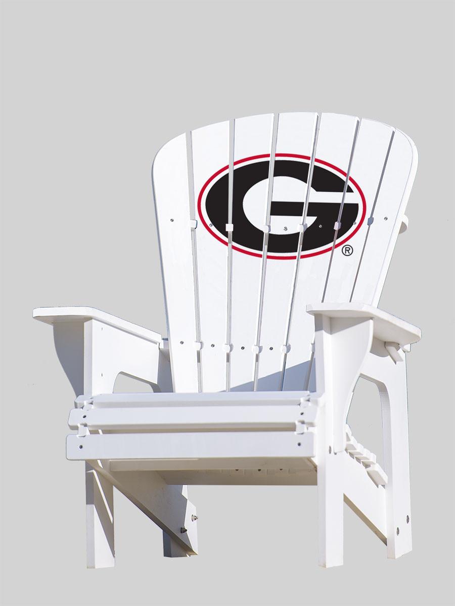 georgia chair company gorilla glue for wood repair university of bulldogs adirondack g key largo