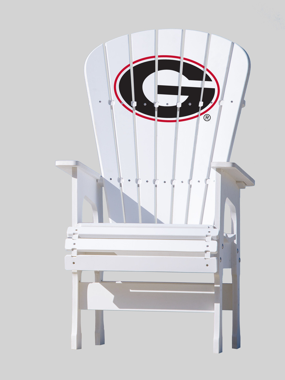 georgia chair company used stokke high top patio university of bulldogs g key largo adirondack