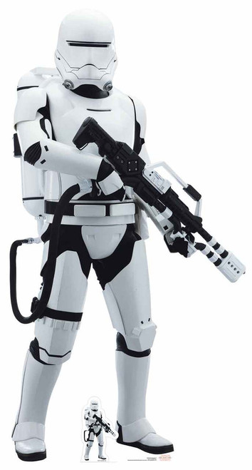 Flametrooper Star Wars The Last Jedi Lifesize Cardboard Cutout Standup