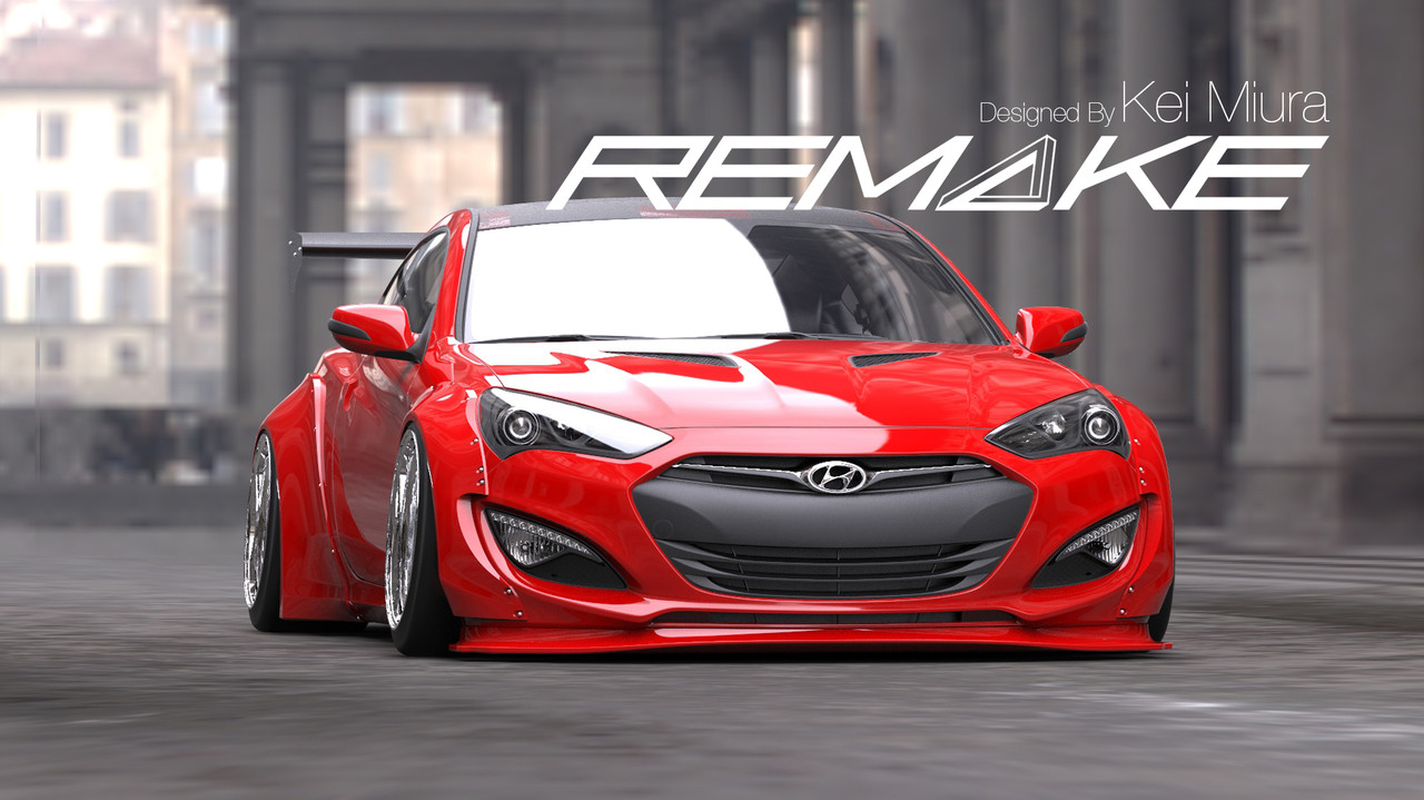 hight resolution of genesis coupe 2 0t hyundai genesis body kit for coupe 2013 15 models