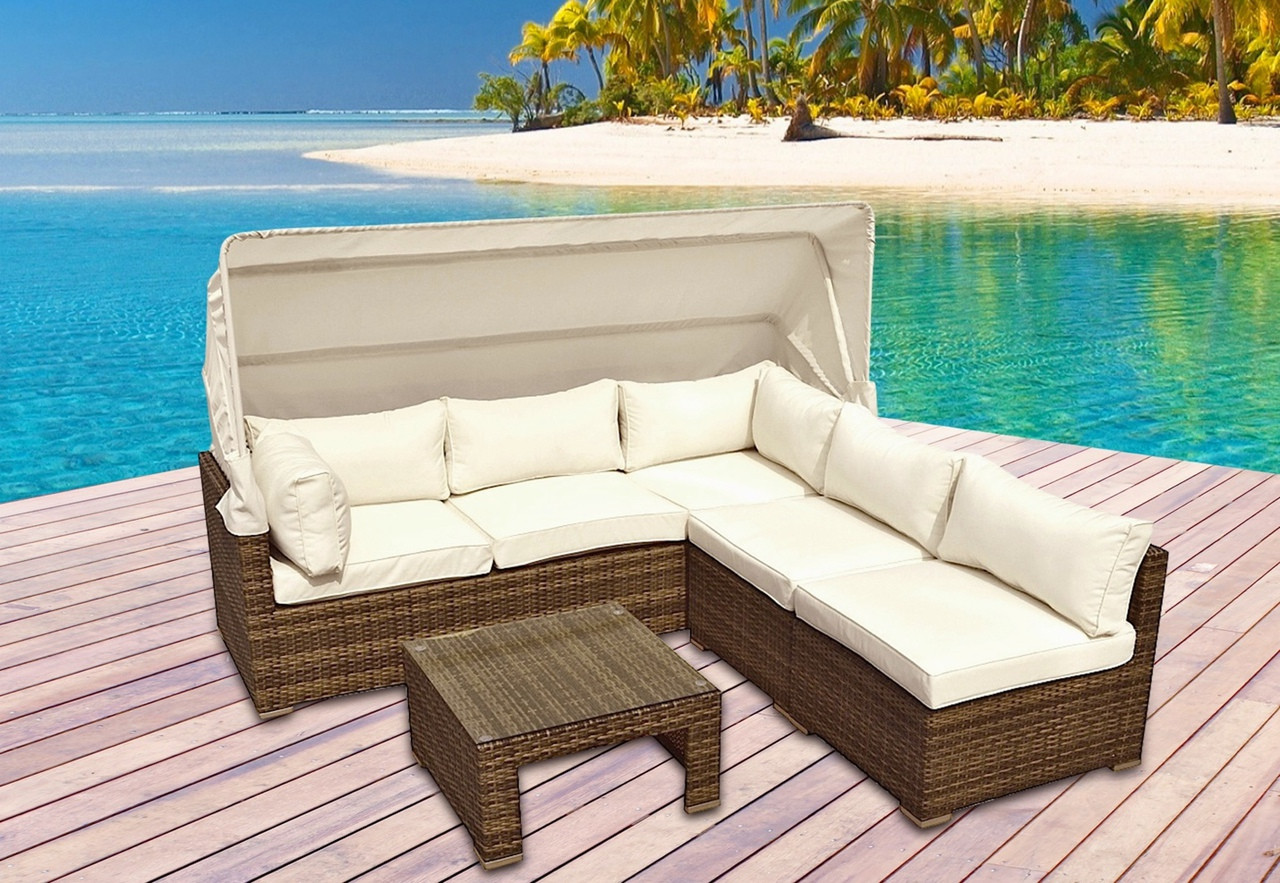 montclair all weather wicker sectional sofa set bed brown leather 4pc outdoor i shop now free shipping