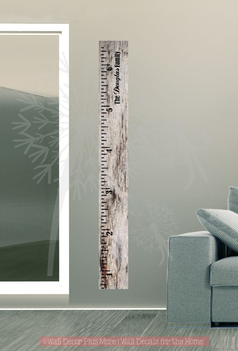 Growth Chart Wall Decals Home Design Ideas