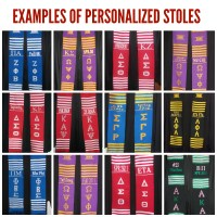 Personalized Kente Stoles - Prime Heritage Gifts