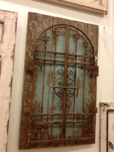 brand new kitchen cost ideas and designs rustic iron distressed blue garden gate wall decor