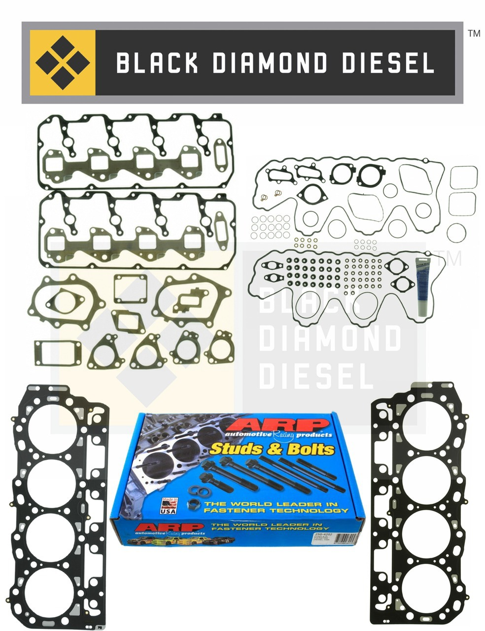 hight resolution of lb7 lly lbz lmm lly head gasket kit