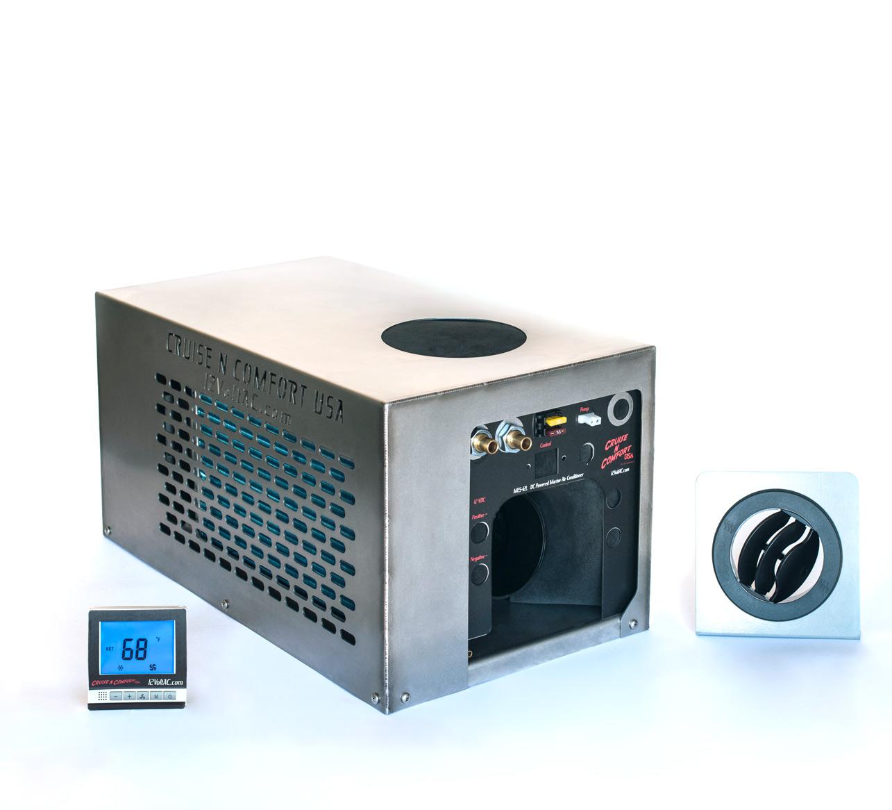 Mes 12l - 12 Volt Dc Mini Split System Air Conditioner Cruise Comfort Usa