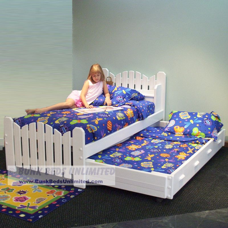 Trundle Bed Plan Twin - Pea Patch Model