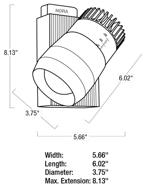 Lighting Spread Diagram