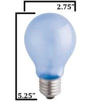 120V 100w Natural Spectrum A21 Light Bulb A21F100VLX by ...