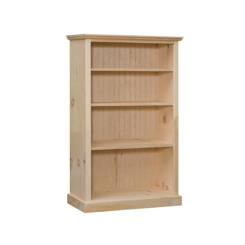 """Bookcase With 3 Adjustable Shelves 32"""" Wide & 48"""" High"""