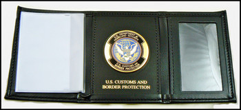 Customs and Border Protection TriFold Wallet with OFO