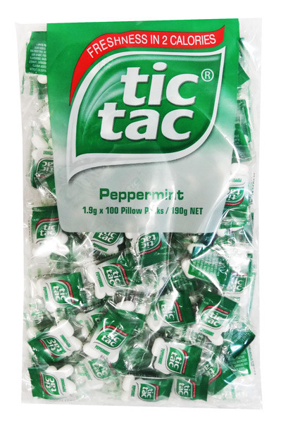 Tic Tac  Pillow Pack  Peppermint and other