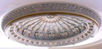 Ornate 10-Foot Ceiling Dome | Domes | D10-Ornate