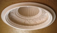 Decorative Dome with Greek Shell Center | Ceiling Domes ...
