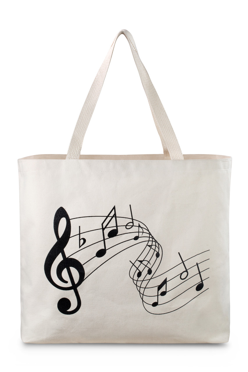 reusable printed canvas bag