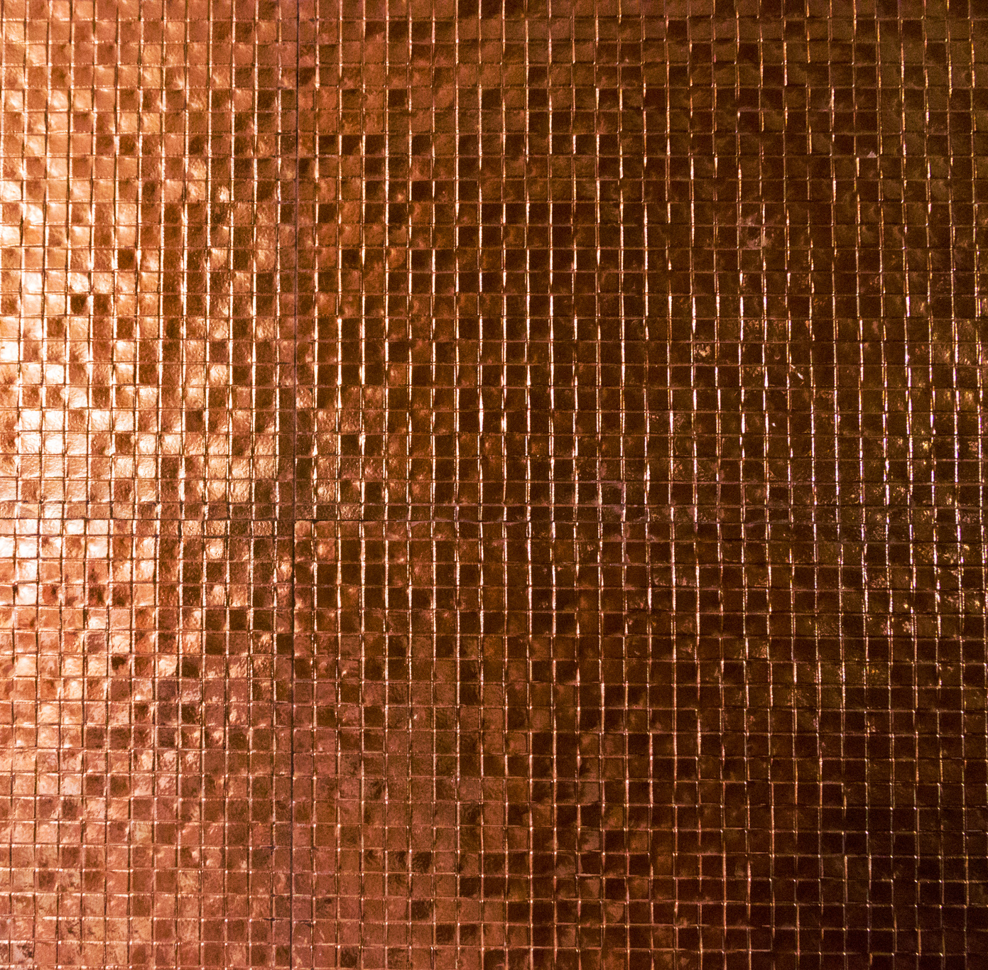Neat Things To Do In Your Home With Copper Mosaic Tiles