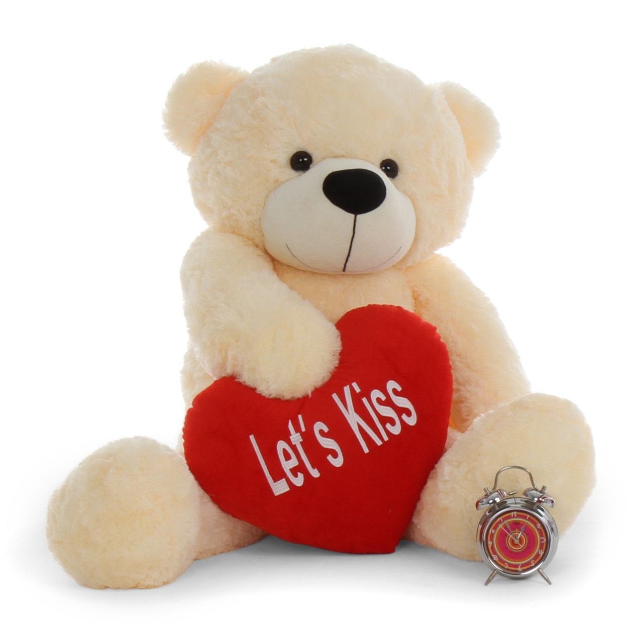4ft Life Size Teddy Bear For Valentines Day Cream Cozy