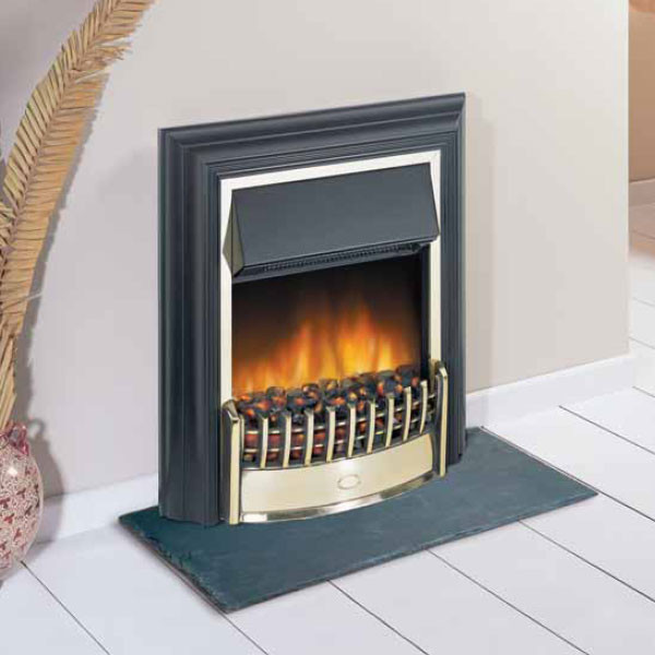 28 In Freestanding Electric Fireplace Insert Heater With For Dimplex Cheriton - Cheapest Prices In The Uk