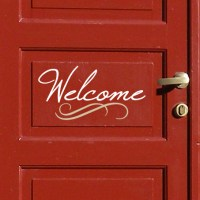Welcome 2 Wall Decal   DecalMyWall.com