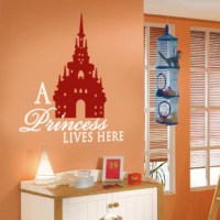 A Princess Wall Decal   DecalMyWall.com